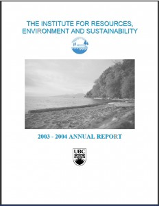 IRES Annual Report 2004