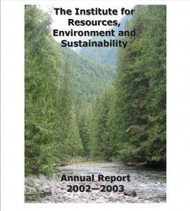 IRES Annual Report 2003
