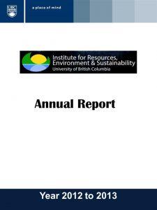 IRES Annual Report 2012-2013
