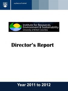 IRES Annual Report 2011-2012