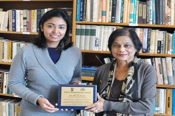 RES PhD student Helina Jolly wins the Nehru Humanitarian Graduate Scholarship in Indian Studies – Congratulations!