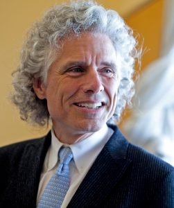 """Steven Pinker is the Johnstone Family Professor of Psychology and a Harvard College professor and he is the author of the new book, """"The Better Angels of Our Nature: Why Violence has Declined."""" Rose Lincoln /Harvard Staff Photographer"""