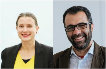 Two new IRES Faculty Associates: Nadja Kunz and Sumeet Gulati!