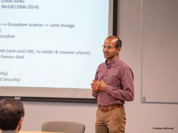 April 4, 2019: IRES Faculty Seminar   Speaker: Navin Ramankutty