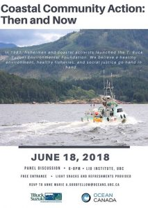 June 18 2018: Coastal Community Action: Then and Now