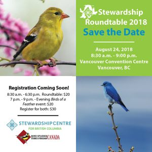 August 24 2018:  Stewardship Roundtable at the International Ornithological Congress of 2018