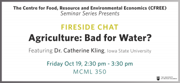 CFREE Invites You to Fireside Chat this Friday – Dr. Catherine Kling (Iowa State University)