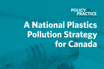 A National Plastics Pollution Strategy for Canada