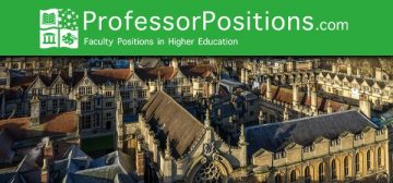 Academic Appointments in Higher Education on ProfessorPositions-September 14, 2021