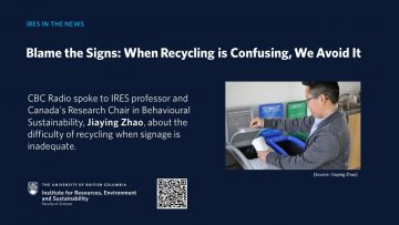 Blame the Signs: When Recycling is Confusing, We Avoid It
