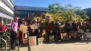 IRES Graduate Students on the Global Climate Strike