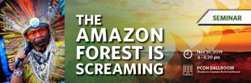 The Amazon Forest is Screaming | Seminar