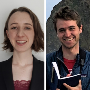 January 16, 2020: IRES Student Seminar with Bronwyn McIlroy-Young and Harold Eyster
