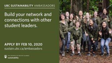 Become a Sustainability Ambassador