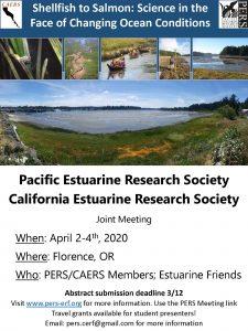 Pacific Estuarine Research Society California Estuarine Research Society